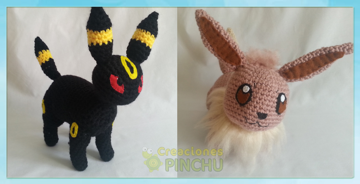 Umbreon y Eevee